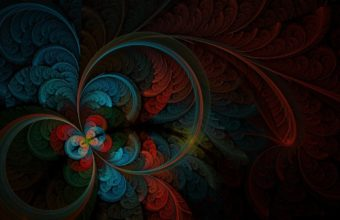 Circles Patterns Dark 1440 X 900 340x220