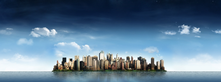 City Sky Line Facebook Cover Photo 768x284