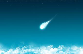 Clouds Comet Minimalism 2650 X 1600 340x220
