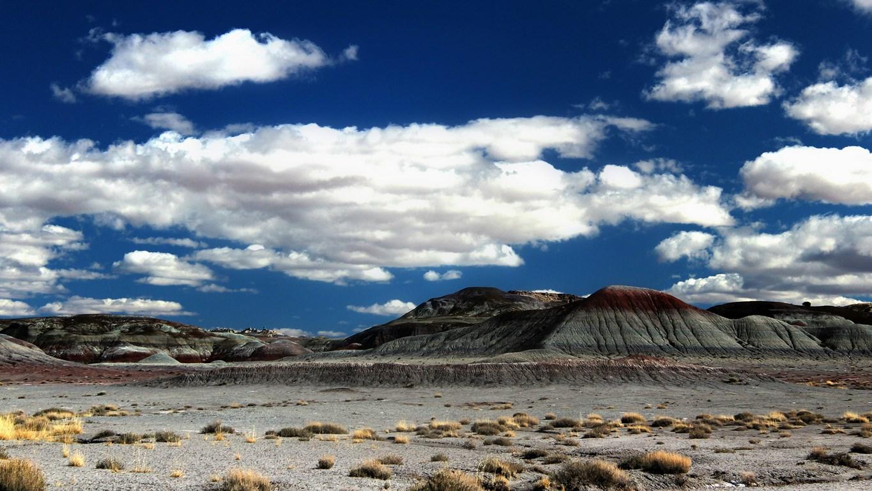 Clouds Desert 1365 X 768