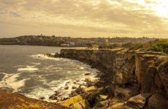 Coast Cliffs Apocalypse Sunlight Sea 3872 x 2592 340x220