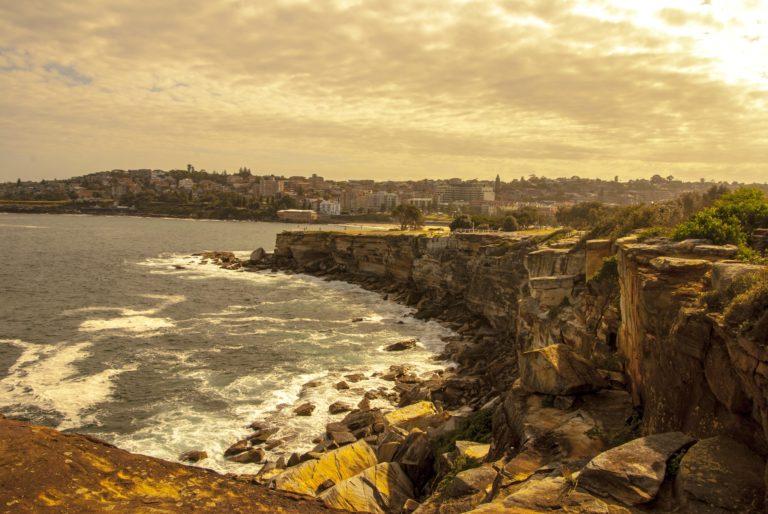 Coast Cliffs Apocalypse Sunlight Sea 3872 x 2592 768x514
