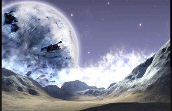 Cold Frozen Ground Planet 1200 x 900 340x220