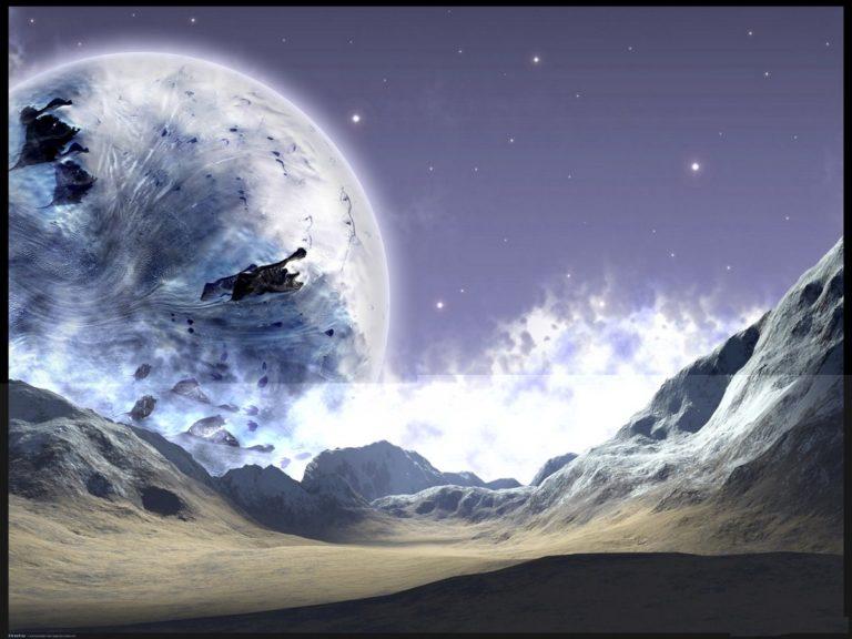 Cold Frozen Ground Planet 1200 x 900 768x576