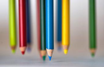 Colored Pencils Sharp Color 2560 X 1600 340x220