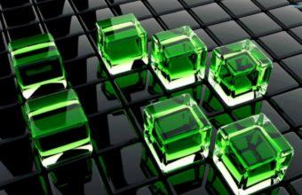 Cubes Glass Surface 1440 x 900 340x220