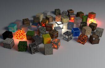 Cubes Shape Glow 1920 X 1200 340x220
