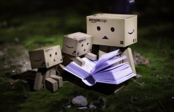 Danbo Cardboard Robot Small 1920 x 1280 340x220