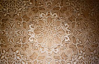 Dark Pattern Stars Design Mosaic Arabian Islamic 1920x1080 1920 X 1080 340x220