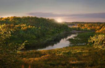 Dawn Sun Light 2560 x 1440 340x220