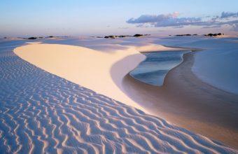 Desert Beaches Water Lakes Pond Sand 1365 x 768 340x220
