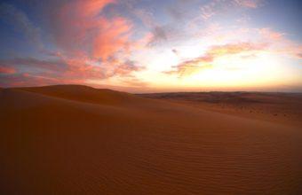 Desert Dusk Sunset Clouds Dunes 1920 x 1200 340x220