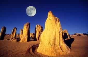 Desert Moon Rocks Australia 1920 x 1200 340x220