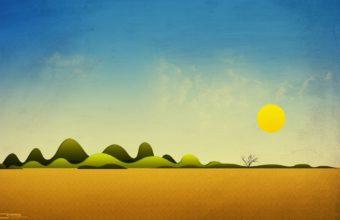 Desert Sunlight 1920 x 1200 340x220