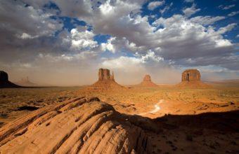 Deserts USA Monument Valley 1920 x 1080 340x220
