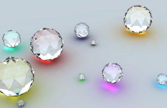 Diamonds Shape Reflection 1440 x 810 340x220