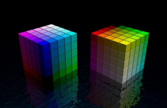 Dice Cube Colorful 1440 X 900 340x220