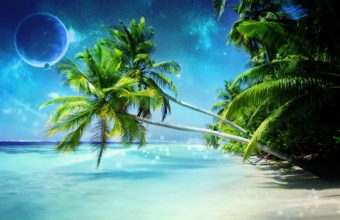 Dream Beach 1680 x 1050 340x220