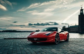 Ferrari 458 By The Bay 1920 x 1080 340x220