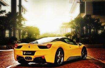 Ferrari Yellow Road 1440 x 810 340x220