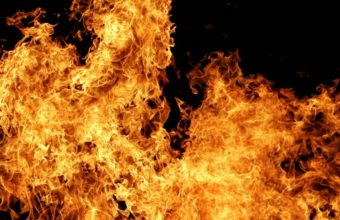 Fire Flame White 1440 X 810 340x220