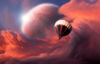 Flight Balloon Sky 1440 X 810 340x220