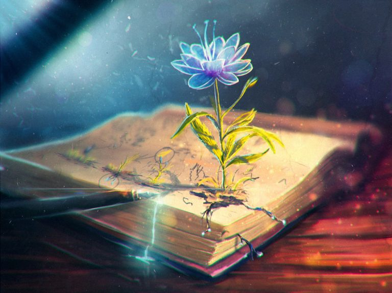 Flower Abstract Book 3118 X 2333 768x575
