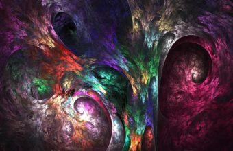Fractal Paint Colorful 1280 X 1024 340x220