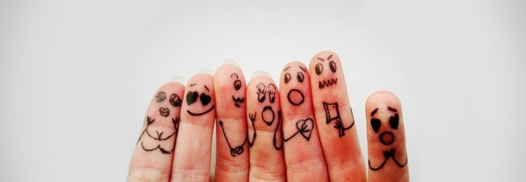 Funny Fingers Facebook Cover 850 x 294 768x266