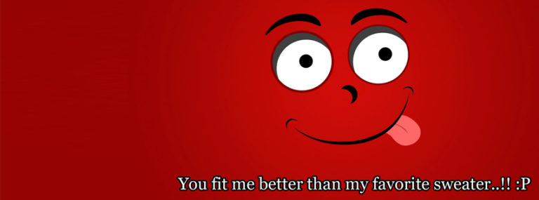 Funny Quote Facebook Cover Photo 850 x 315 768x285