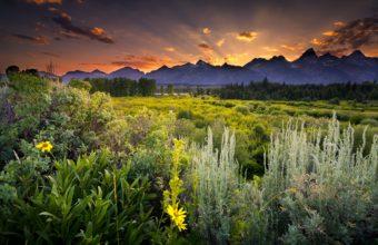 Grand Teton National Park Sunset 4579 x 3057 340x220