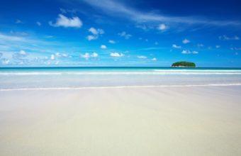 HD Sky Blue Beach 1920 x 1080 340x220