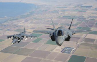 Harrier Flight F 35b 5760 X 3840 340x220