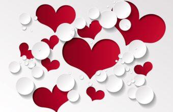 Heart Shape Pattern 5000 x 3450 340x220