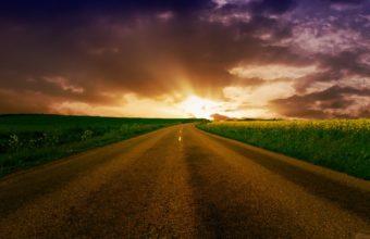 Highway To Horizon 1920 x 1200 340x220