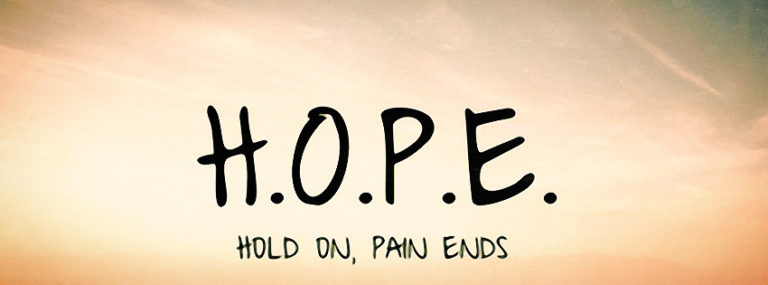Hope Facebook Cover Photo 850 x 315 768x285