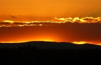 Horizon Sunset Wallpaper 1920 x 1200 340x220