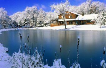 House Lake Winter 1200 X 900 340x220