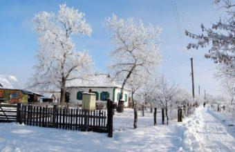 House Winter Snow 3098 X 2074 340x220