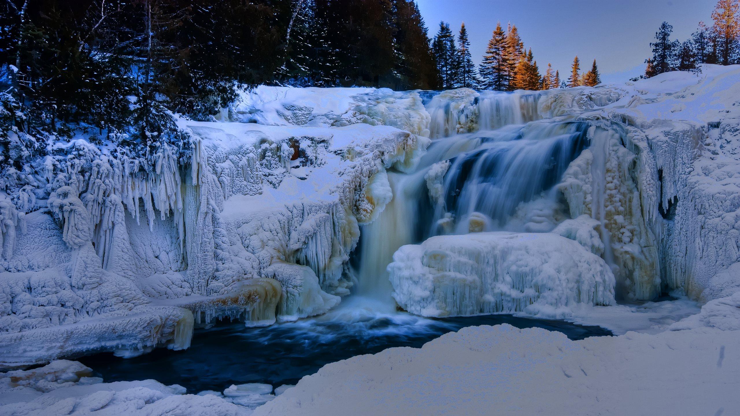 Зимний водопад  № 2946958  скачать