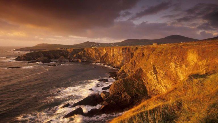 Irish Farms On Seaside Cliffs 1920 x 1080 768x432