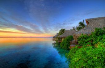 Island Sunset 2560 x 1600 340x220