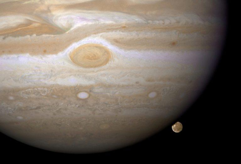 Jupiter Ganymede Planet 2815 x 1918 768x523