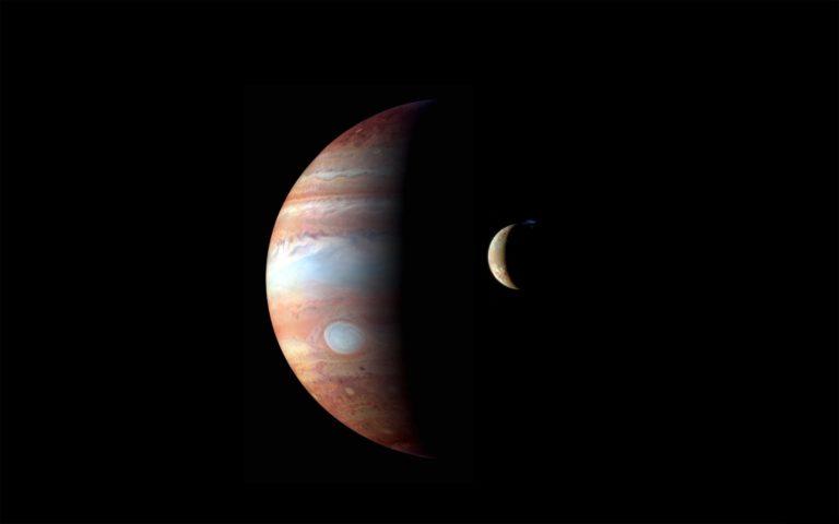 Jupiter Planet Moon 2560 x 1600 768x480