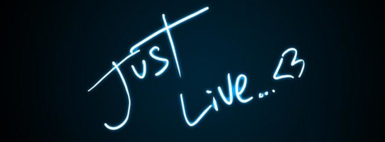 Just Live Facebook Cover 851 x 315 768x284