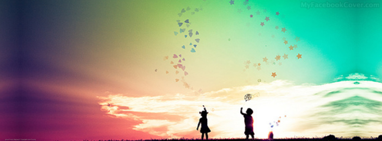 Kids in Love Facebook Cover 768x284