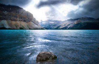 Lake In Big Mountains 1920 x 1080 340x220