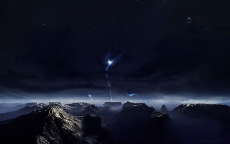 Landscapes Cg Digital Art Sci Fi Planets 1920 x 1200 768x480