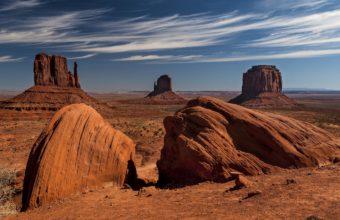 Landscapes Nature Desert Rocks 2048 x 1366 340x220