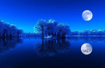 Landscapes Night Luna 1920 x 1200 340x220